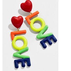Baublebar love pride earrings